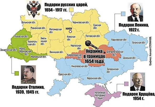 Подарок хрущева крыма украине